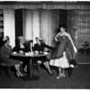 Fashion Show tea at Bullocks Westwood for Delta Zetas, 1952