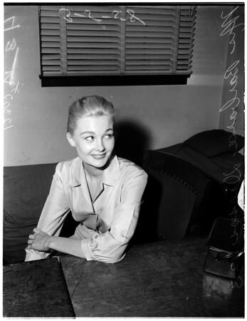 Drosos divorce, 1958