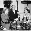 Women of University of California Alumni planning event, 1952