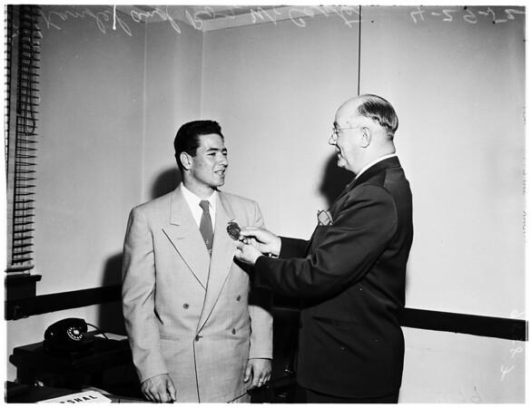 Boys week (Sheriff's Office), 1952.