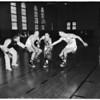 Basketball -- Southern California squad, 1957