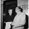 Narcotics trial, 1952.