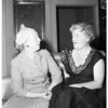 Mrs. Hugh Evans - Party, 1957