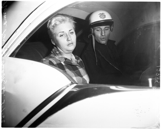 Hit and run (struck an officer), 1958