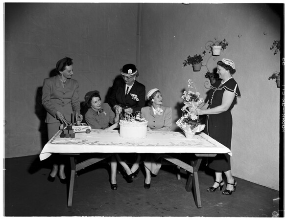 La Sertoma, Los Angeles,  1952