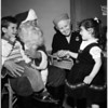 Cardinal McIntyre's Christmas party, 1958