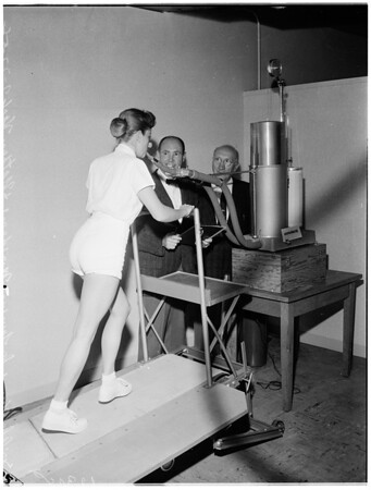 University of California Los Angeles performance lab, 1958.