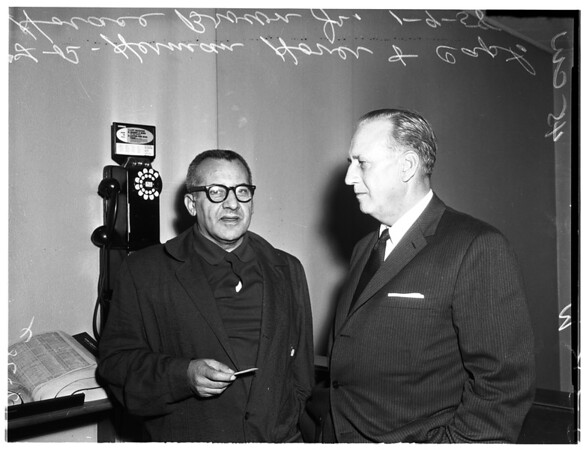 Herman Hover in jail, 1958