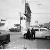 Robbery attempt in Inglewood, 1957
