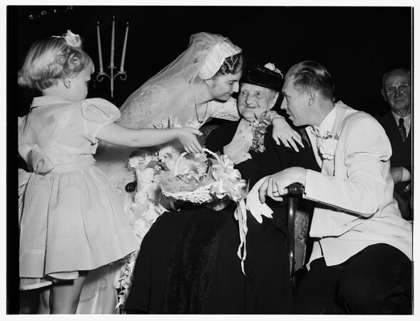 Loughmiller wedding, 1952.