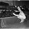 Hobby show at Shrine Exposition Hall, 1958