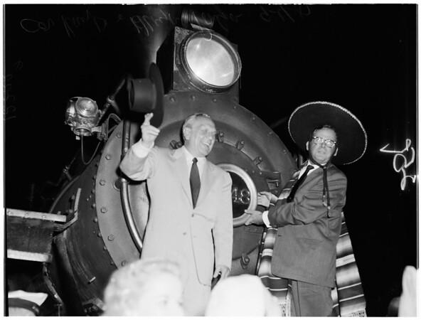 Los Angeles 176th birthday, 1957