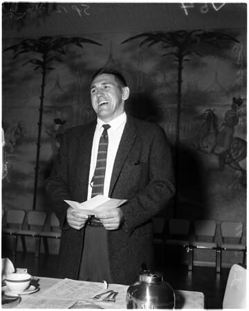 Grid luncheon, 1958