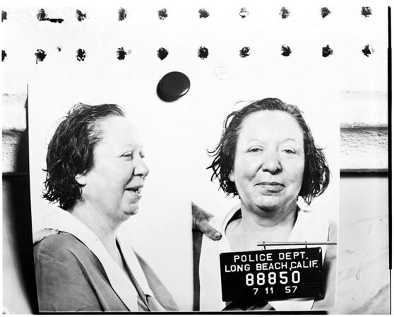 Nude woman murdered (Long Beach), 1958