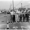 Washington Boulevard underpass dedication, 1957