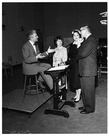 Prytanean women planning benefit, 1958