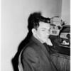 Jockey in jail in South Gate, 1958