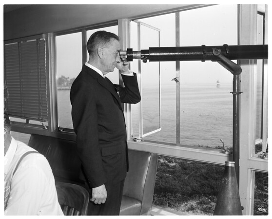 Marine lookout, 1958