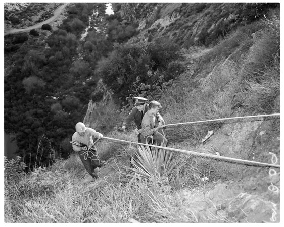 Mountain rescue, 1958