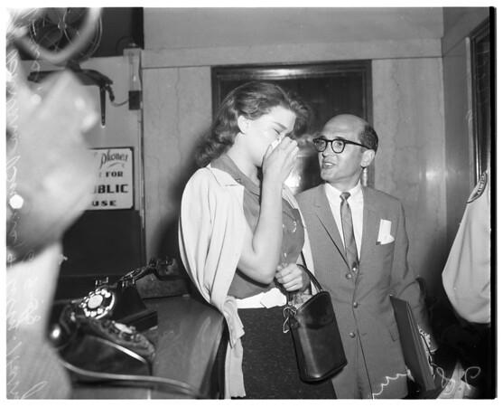Barbara Burns sentence, 1958