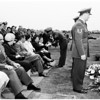 Funeral services for Technical Sergeant Rolfe M. Watson of Inglewood, one of the six original members of Flying Tigers, 1952.