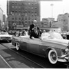 President Eisenhower arriving in Los Angeles, 1958