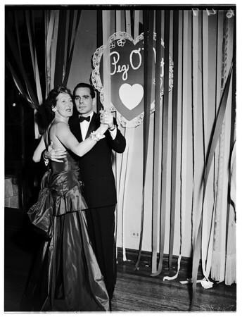 Valentine Party, Bel Air Bay Club, 1952