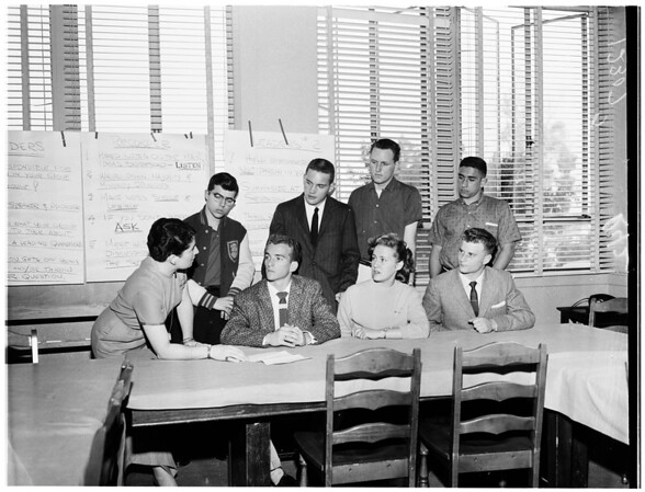Examiner Youth Forum, 1958