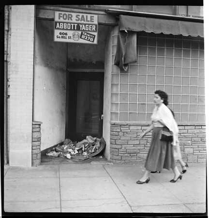 Litterbugs feature (trash), 1957