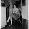 Los Angeles Police Department narcotics arrest, 1958