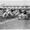 Football -- University of Southern California Spring football scrimmage, 1958