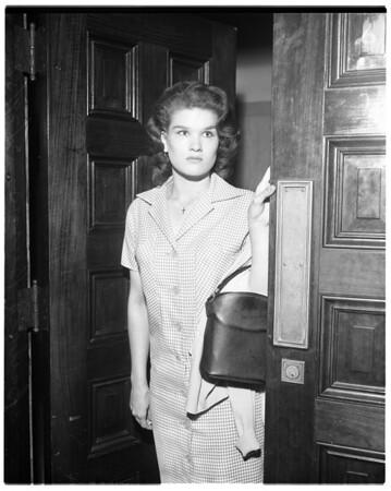 Barbara Burns (narcotics), 1958