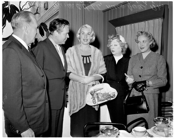 Marion Davies gift to University of California Los Angeles Medical Center (for new Children's Wing), 1958.