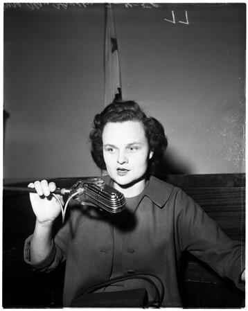Harold Middlekauff preliminary (murder of Beryl Creech), 1958