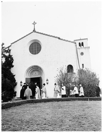 Passionist Fathers Centennial celebration, 1952.