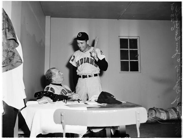 Baseball... Cleveland Indians, 1961