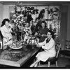 Loyola Mothers Club plans dinner at home of Mrs. W.N. Fritsche, 2000 North Hobart, Hollywood, 1952