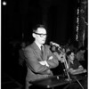 City Council hearing on Chavez Ravine, 1959