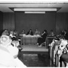 Police hearing in Lynwood, 1958