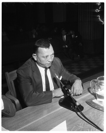 Labor Practice hearing, 1958