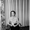 Mrs. Taubman appointment, 1958.