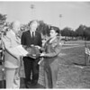 Van Nuys Reserve Officers Training Corps receives award, 1952