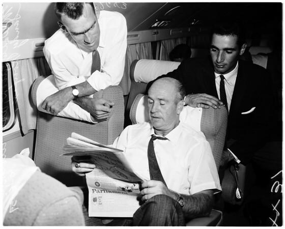 Dodgers -- White Sox departure, 1959