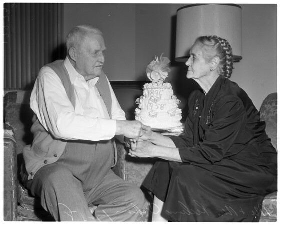 Married 62 years, 1958