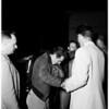 Narcotics arrest on ship, 1952.