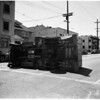Car versus bakery truck at 8th Street and Coronado Street, 1952.