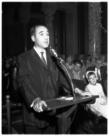 Bunker Hill hearing, 1958
