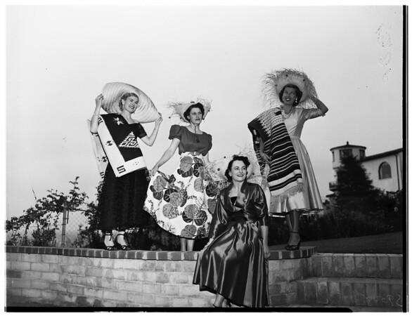 Parkview Woman's Club plans party, 1952