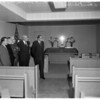 New chapel at veterans hospital (Sepulveda), 1957
