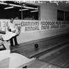 Los Angeles Examiner bowling tournament, 1961
